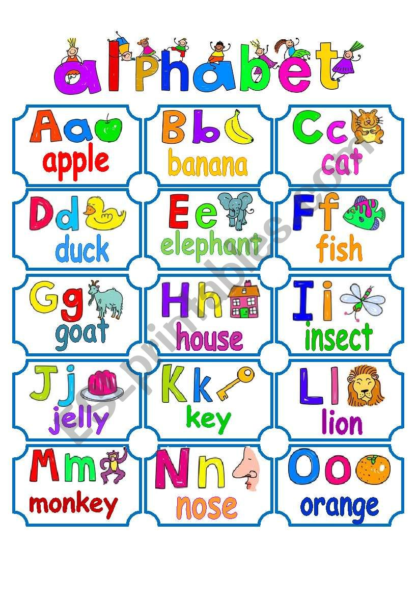 Priceless image throughout printable alphabet chart