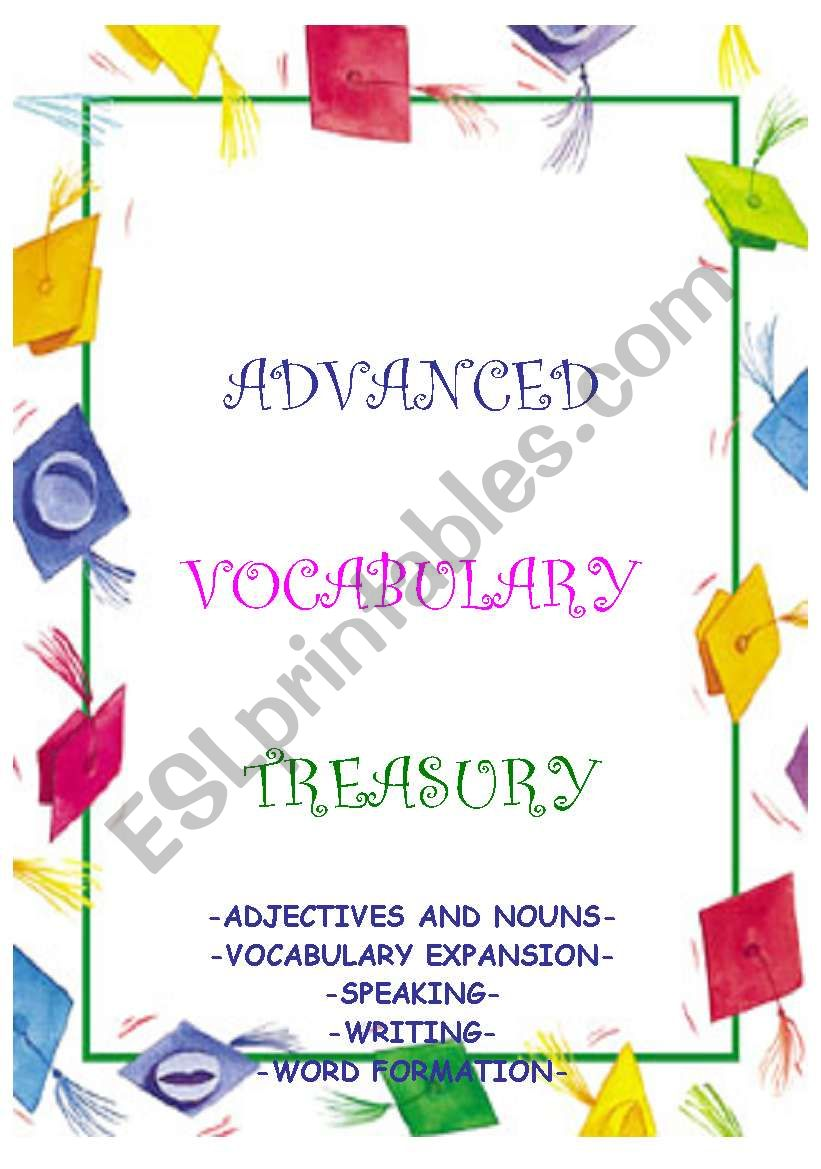 ADVANCED VOCABULARY TREASURY - word games