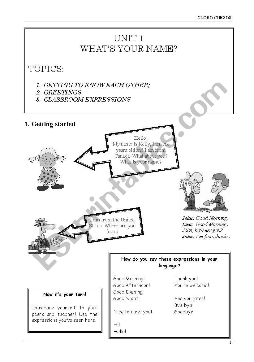 Introduction to English Language - 4 pages