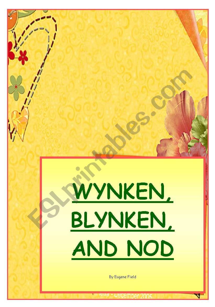 WYNKEN, BLYNKEN AND NOD by Eugene Field - poetry corner