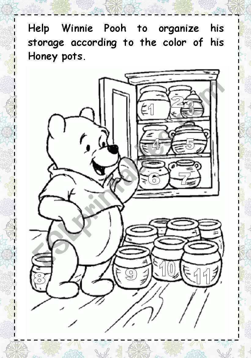 Winnie The Pooh Coloring Pages Free Printable Winnie The Pooh ... | 1169x821