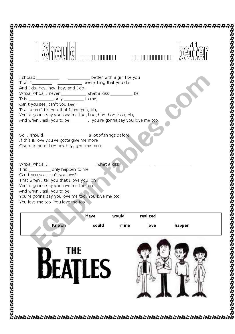 Beatles - should have known better