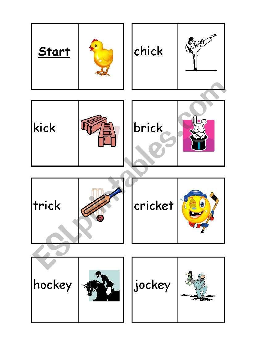 ck loop cards  worksheet