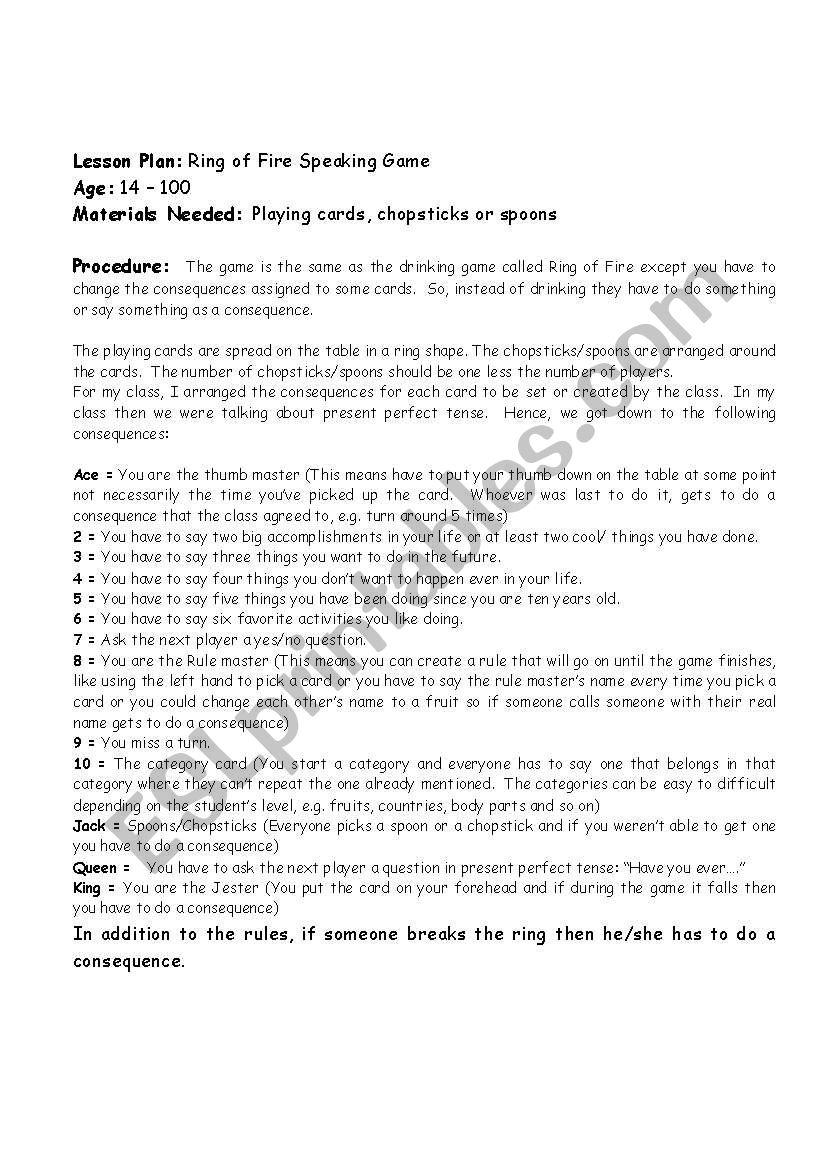 worksheet Ring Of Fire Worksheet english worksheets ring of fire worksheet