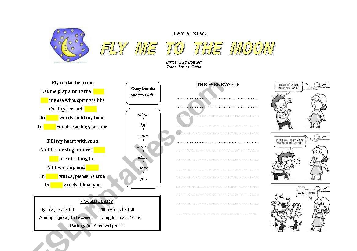 The Werewolf & Fly me to the moon