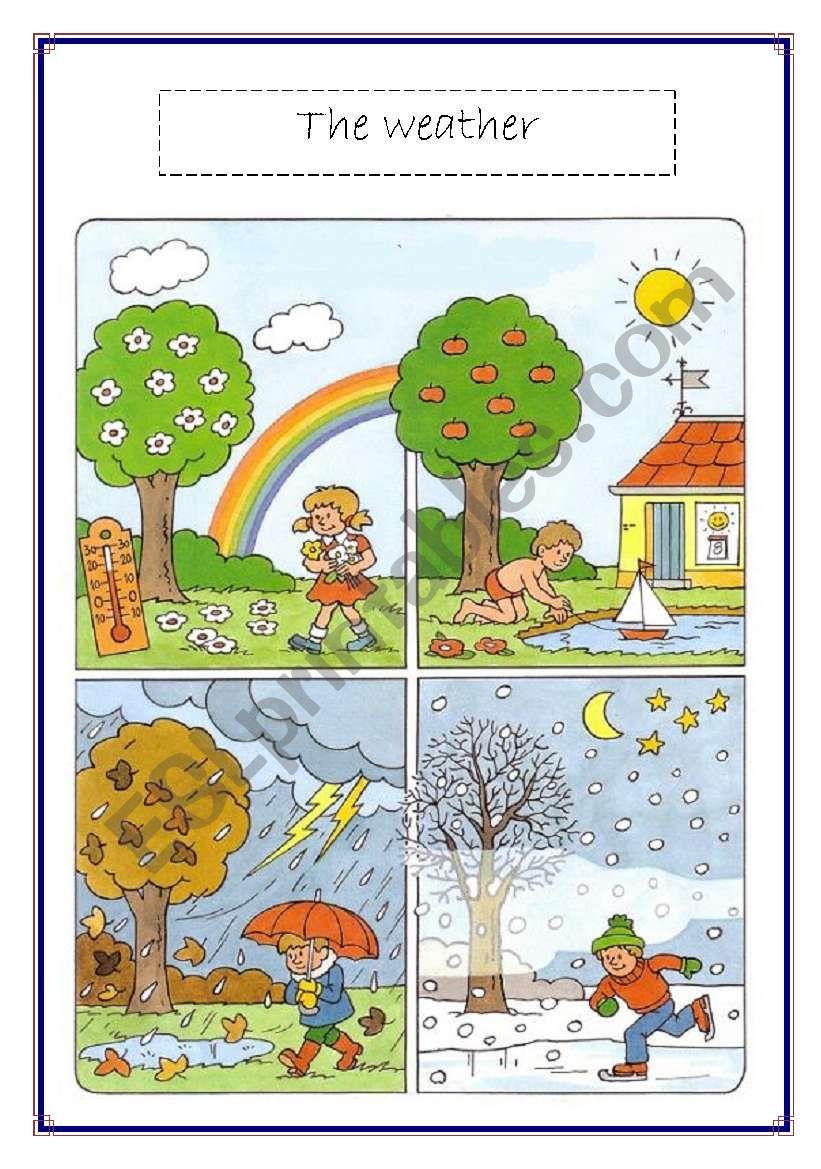 the weather voc list worksheet