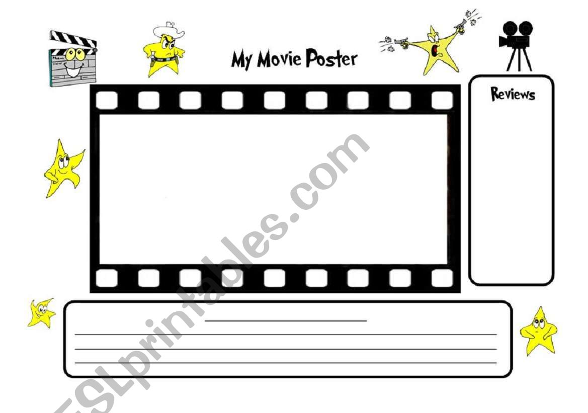 image about Printable Movie Poster known as Crank out a Video Poster ***** Higher Good quality A3 Printable