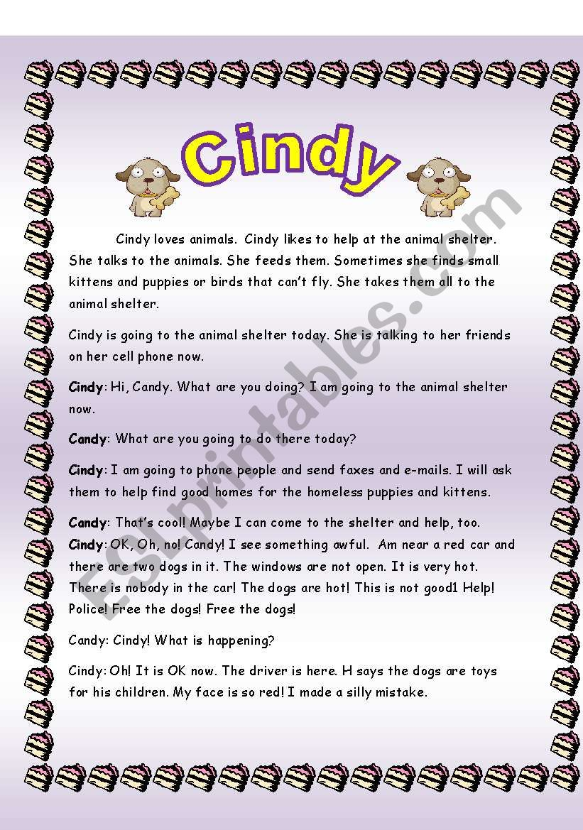 Cindy   worksheet