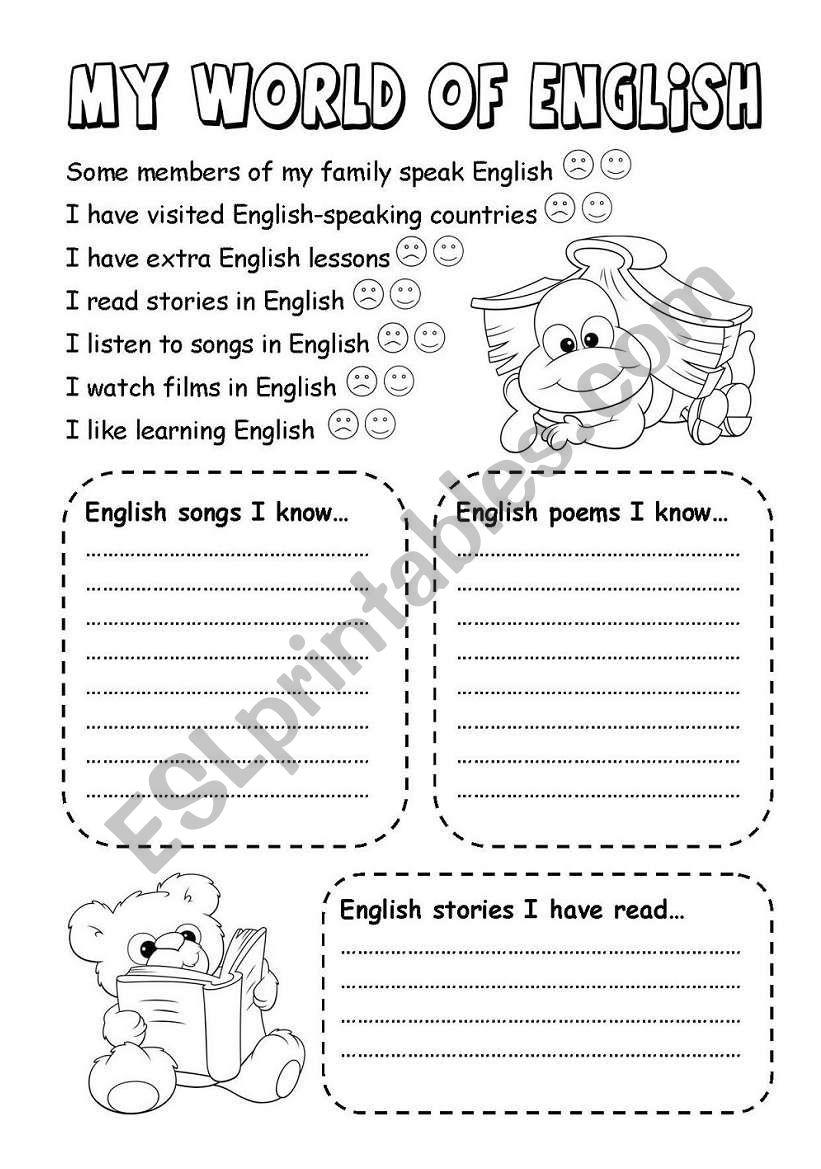 My first English portfolio - Page 2
