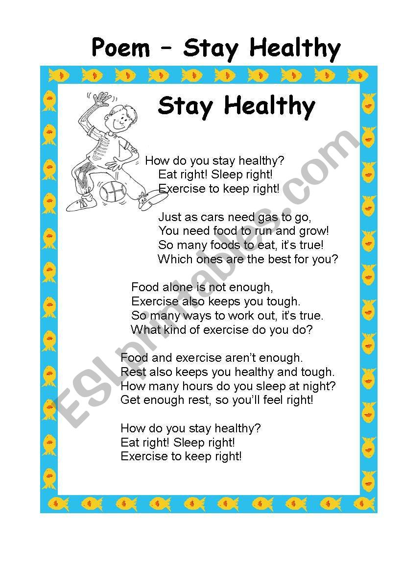 Stay Healthy -Food and Nutruitions