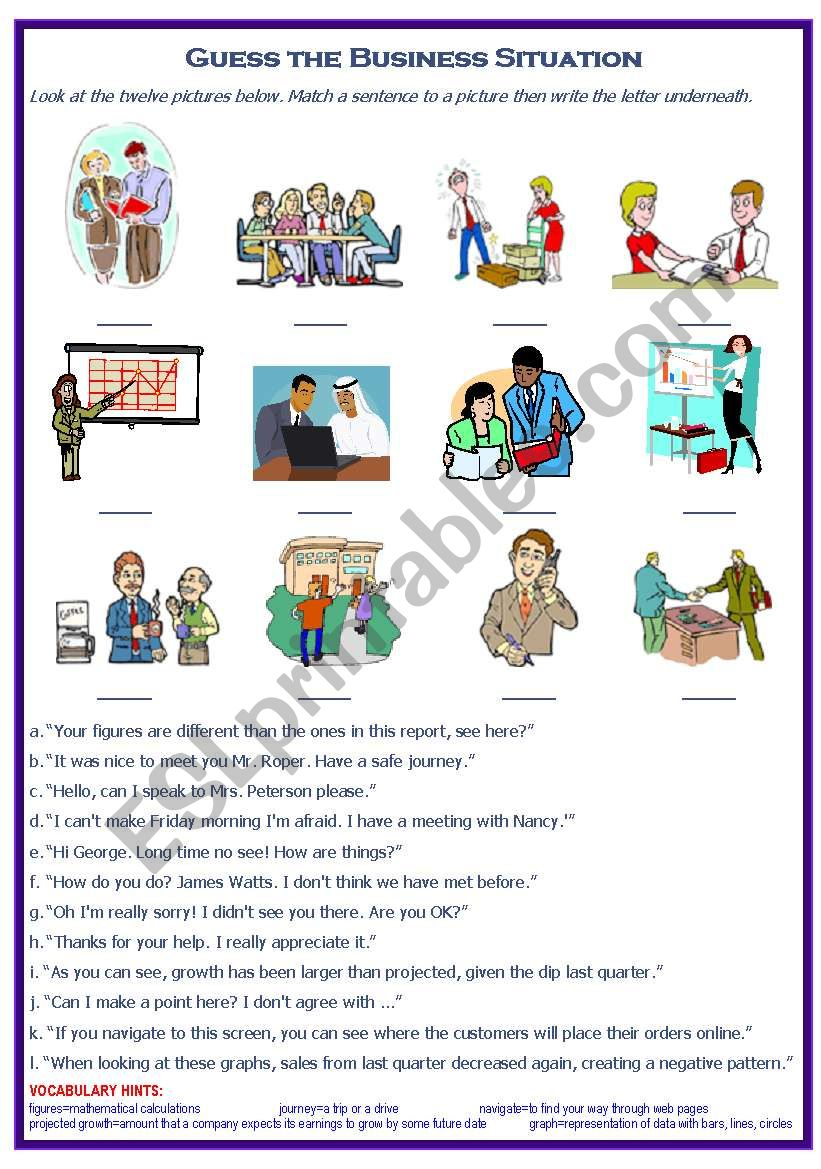 Business Conversational Phrases