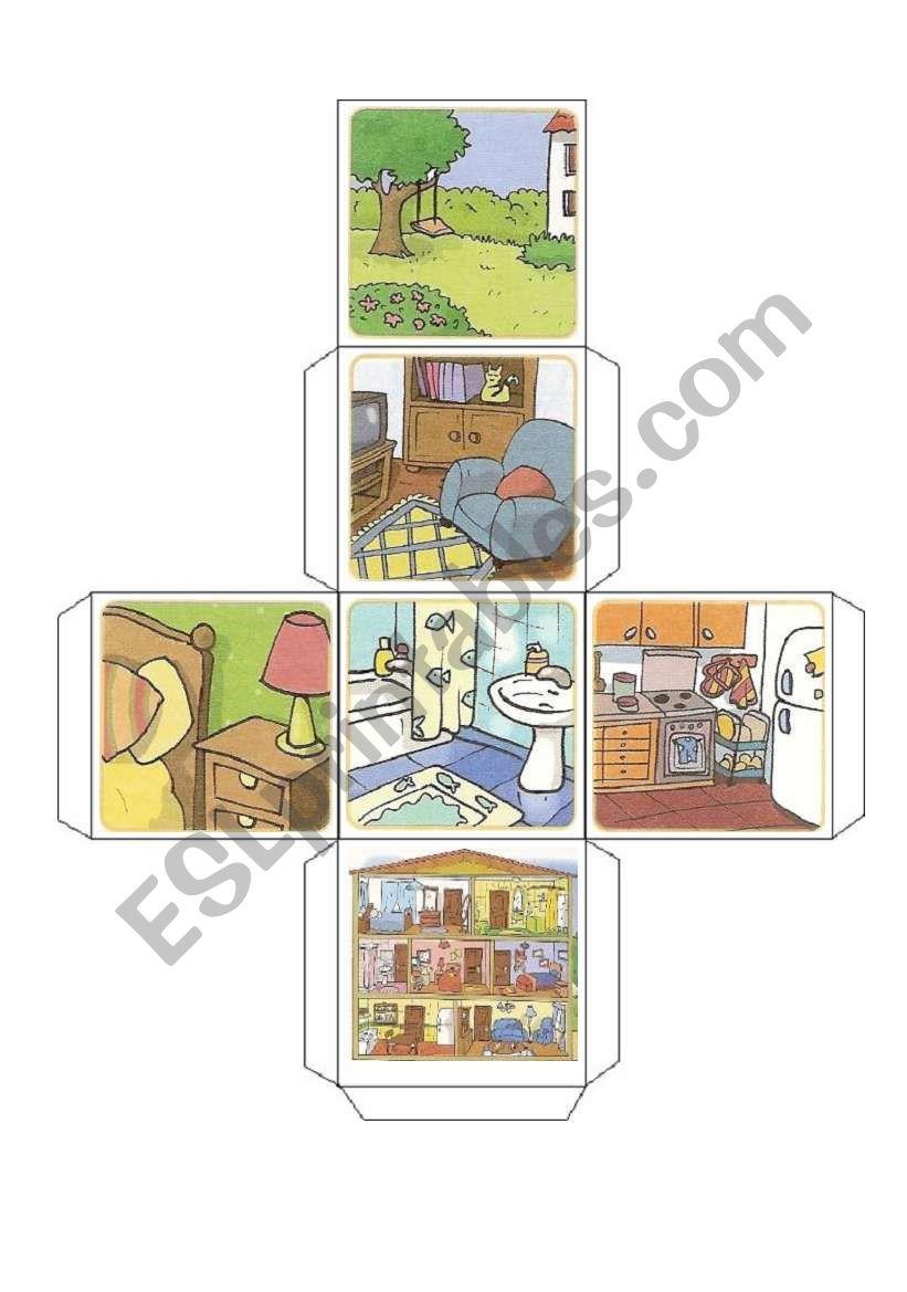 House dice worksheet