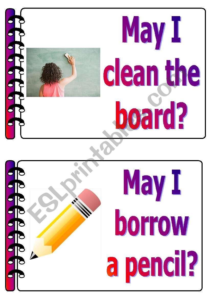 classroom language set 5 worksheet