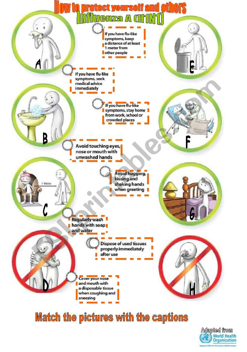 How to protect yourself from H1N1!