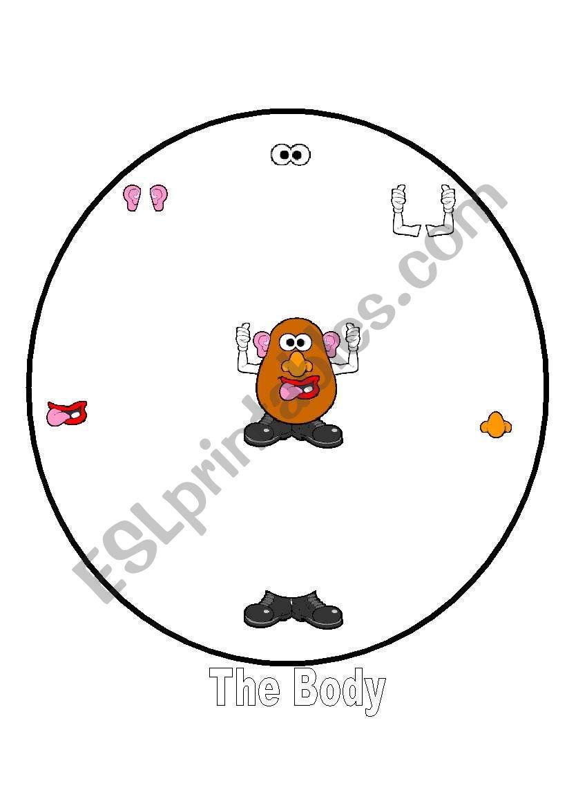 Clip Art Mr Potato Head Body