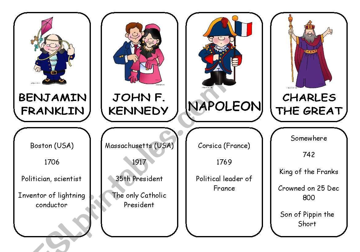 WAS - WERE CARDS 2/6 worksheet