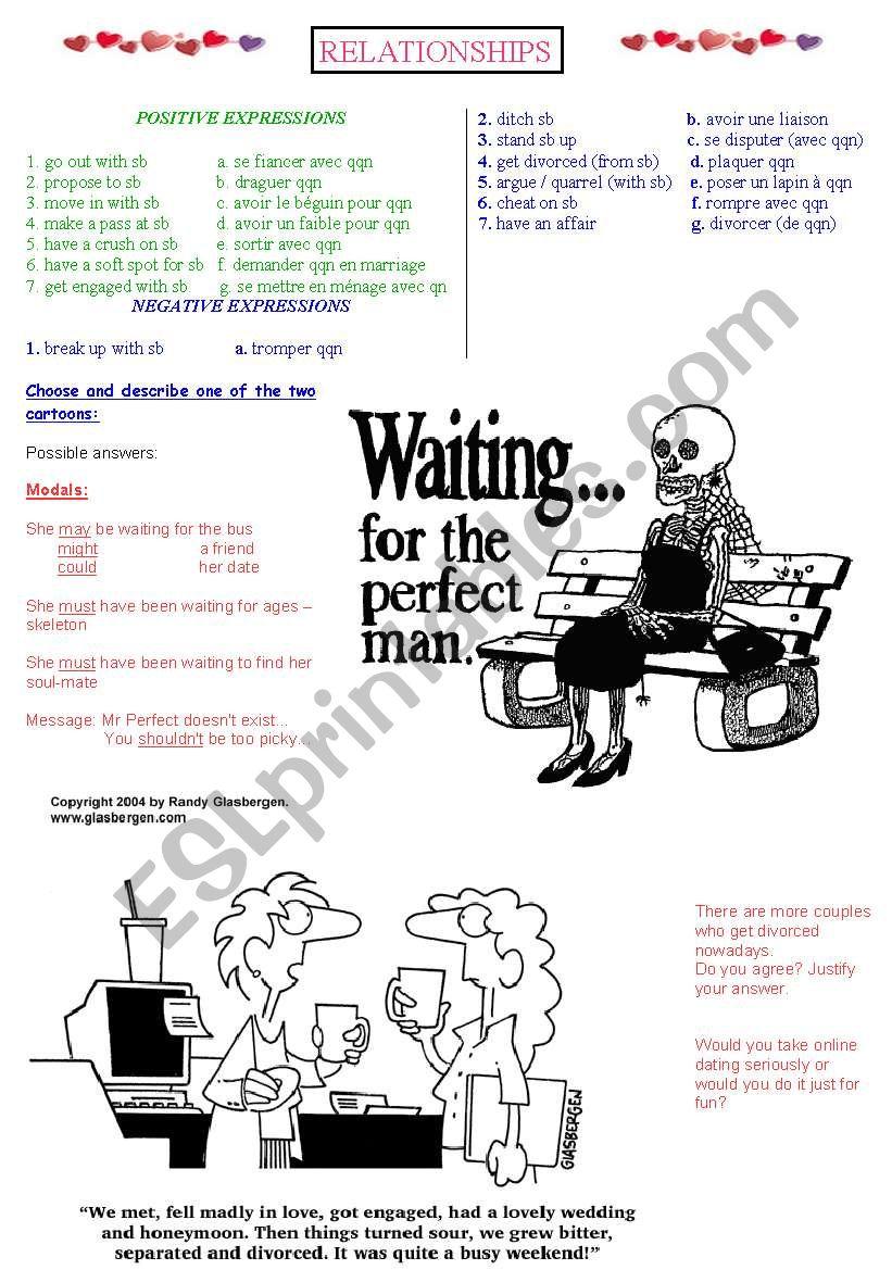 Dating vocabulary