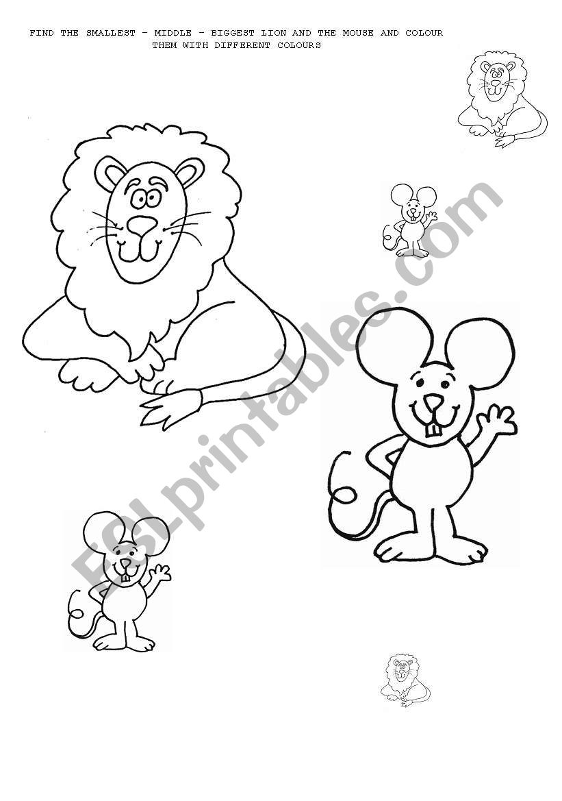 lion math worksheets lion best free printable worksheets. Black Bedroom Furniture Sets. Home Design Ideas