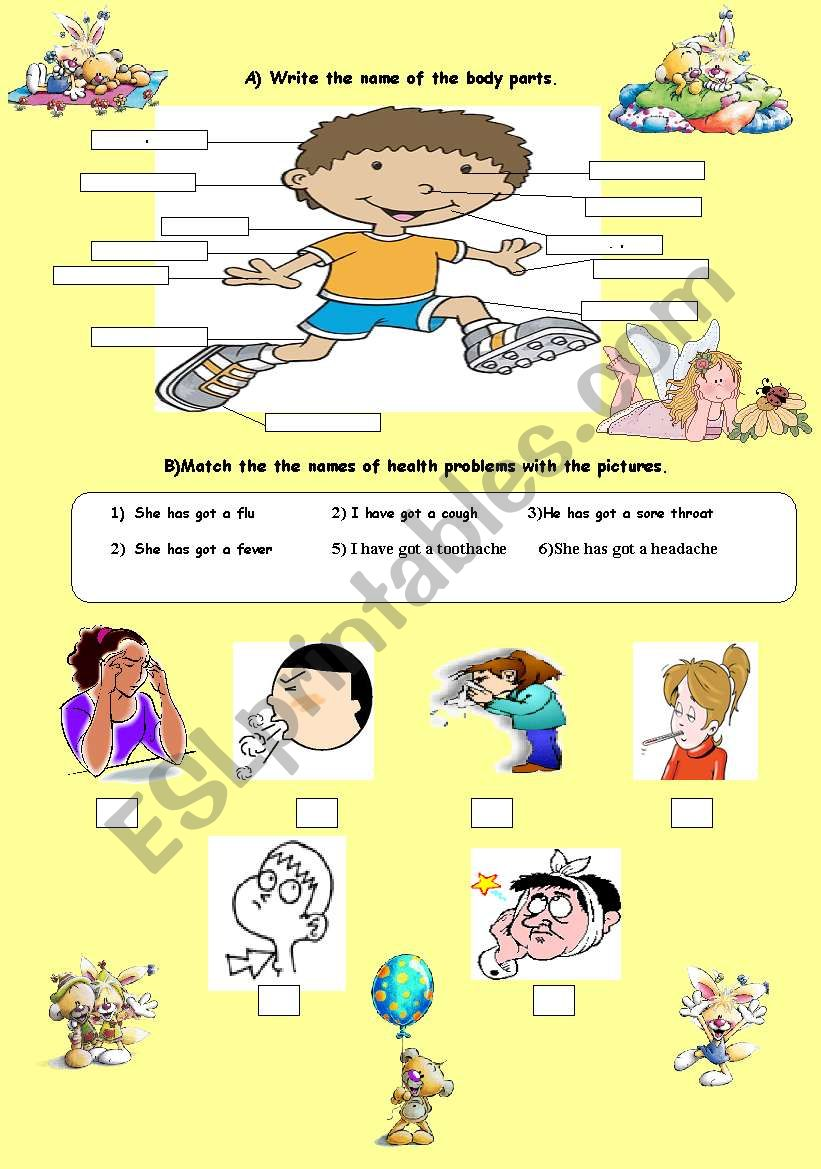 Body Parts and Health Problems
