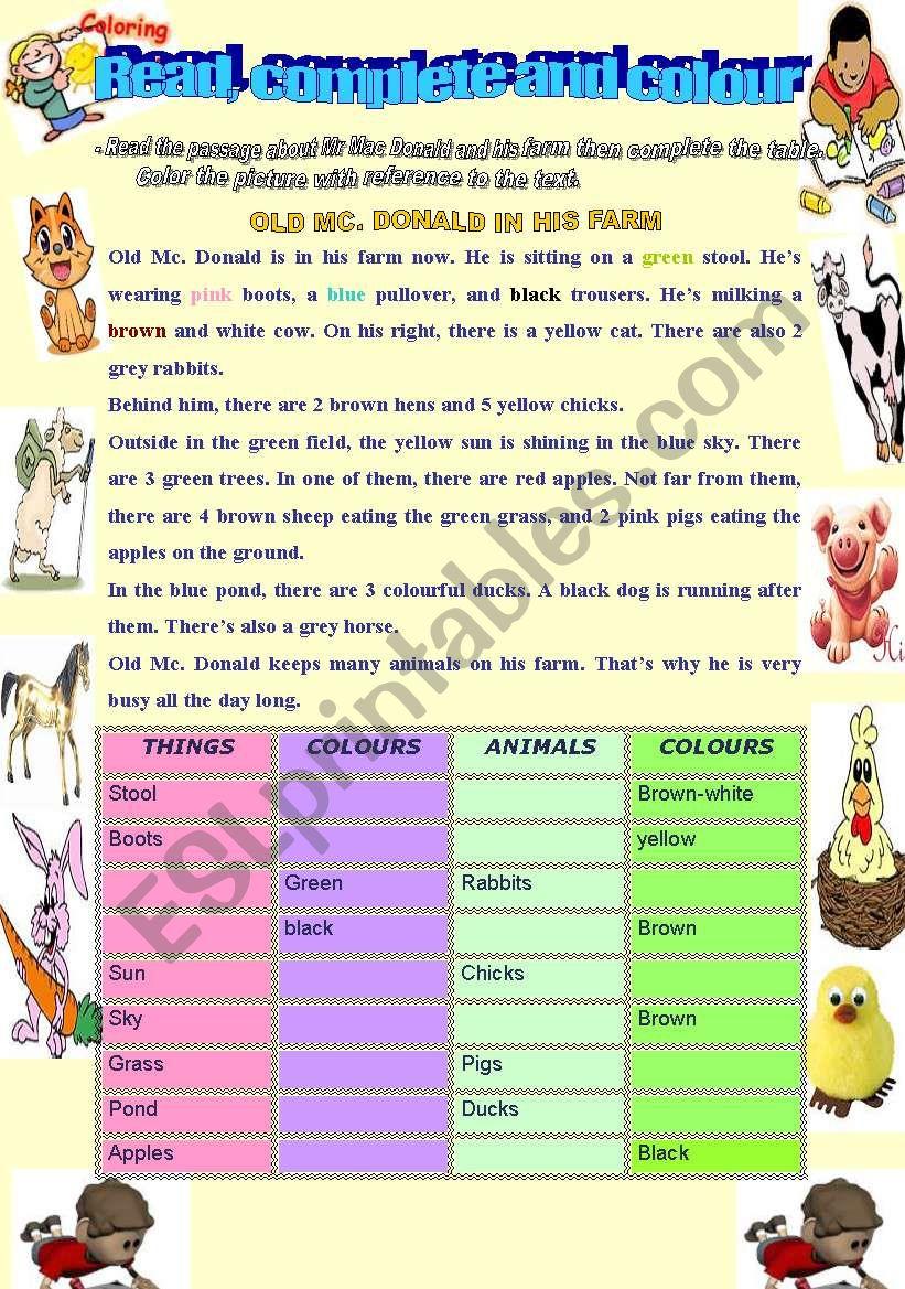 describing animals esl worksheet by maram11. Black Bedroom Furniture Sets. Home Design Ideas