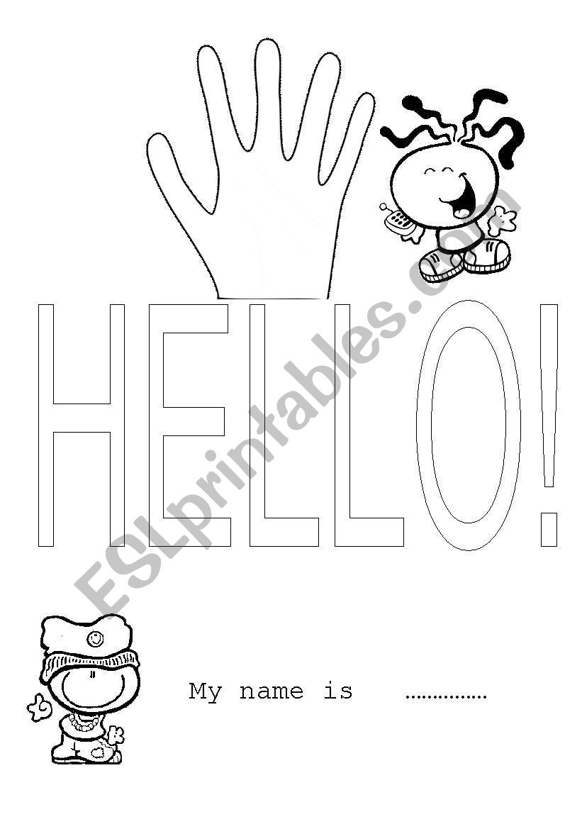 HELLO ESL worksheet by maria75