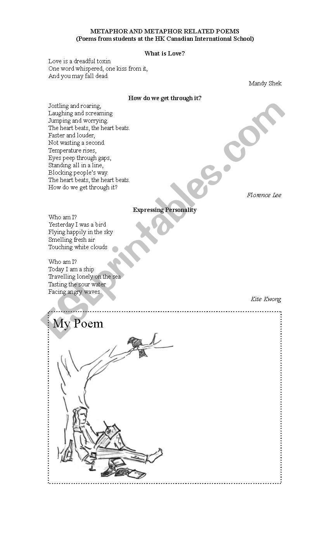 Poems Metaphor 1