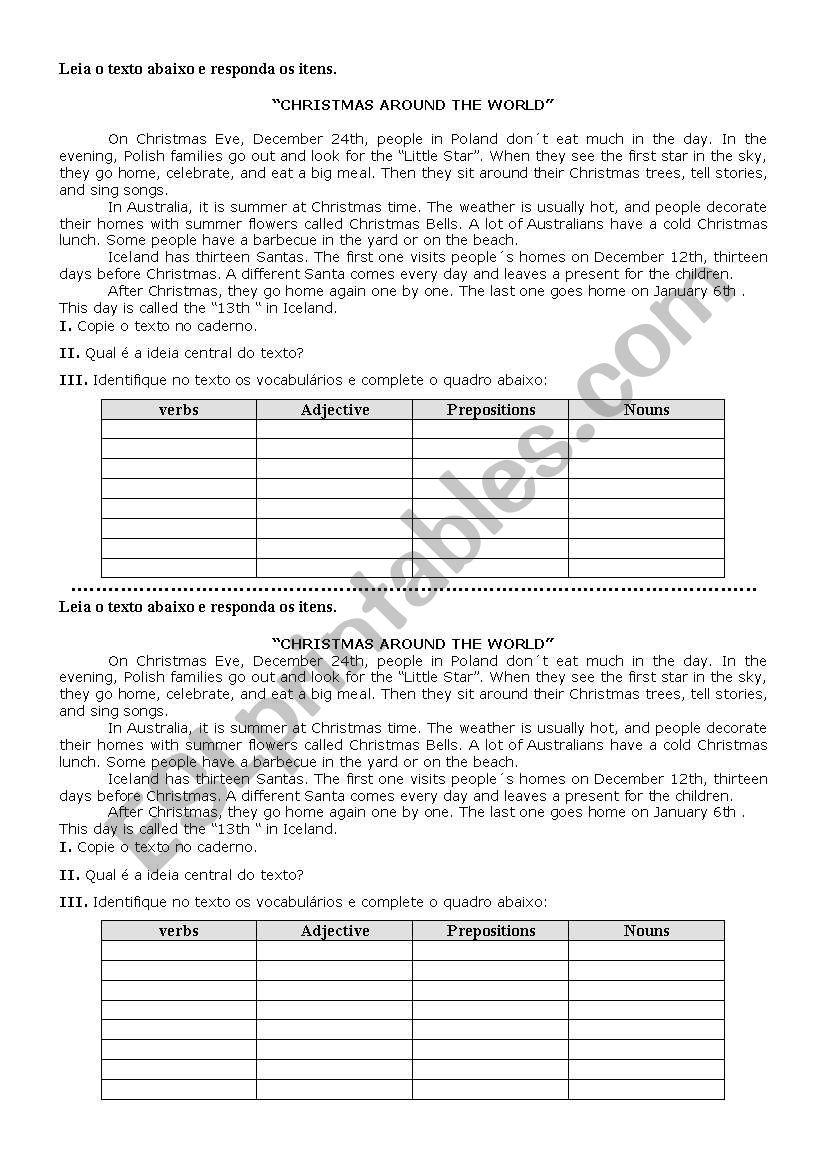 Text worksheet