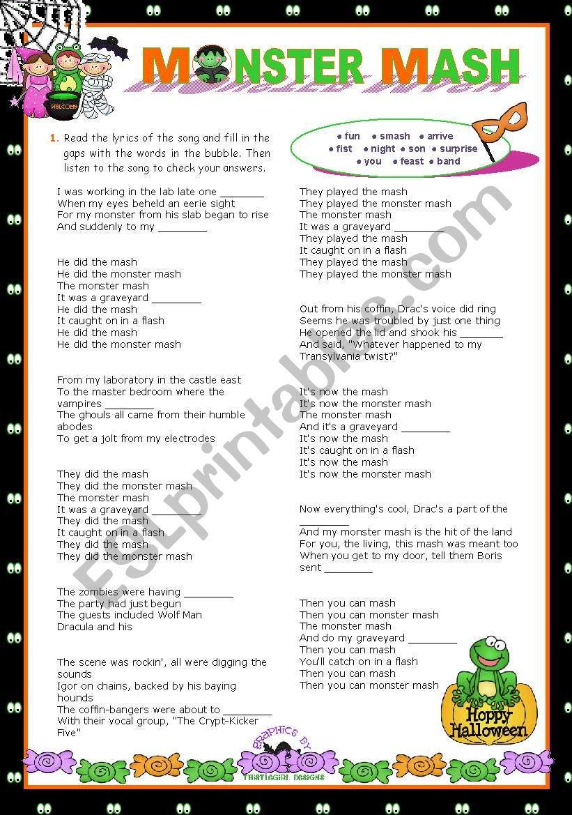 Hallowwen Set  (5)  -  LET´S SING!