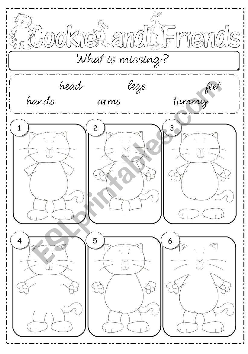 What´s missing? part 1 worksheet