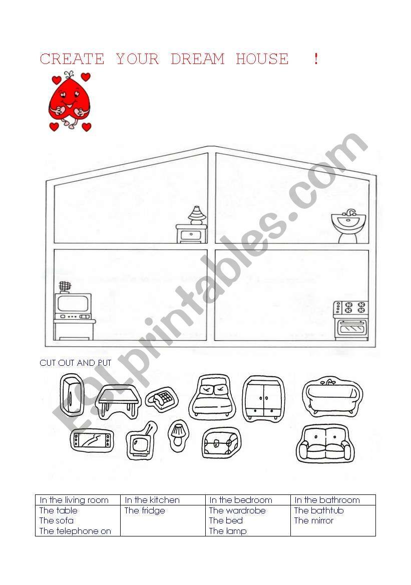 create your dream house worksheet