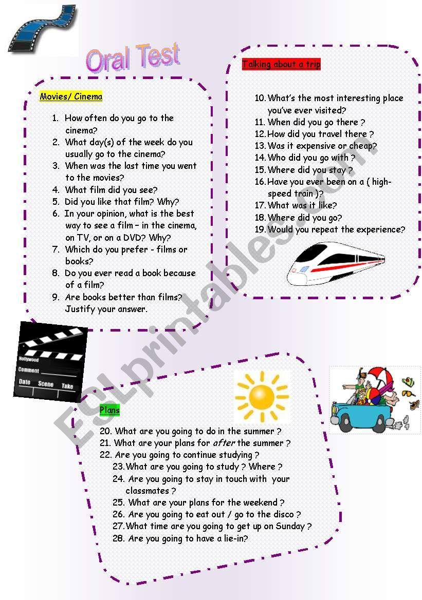 Speaking cards 2 ( 9.11.09 ) worksheet
