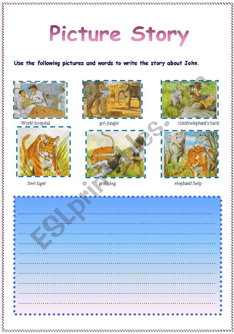 a holiday in the jungle worksheet