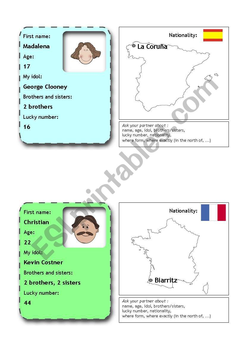 people  flashcards 5 (from 12)