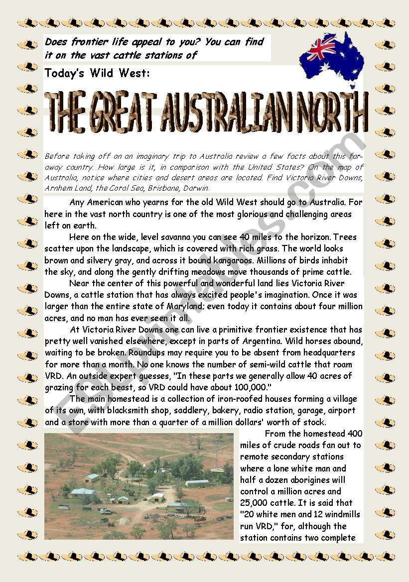 Reading_The Great Australian North Part 1