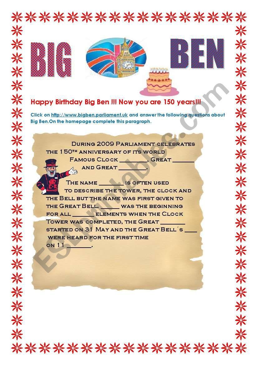 describe big ben