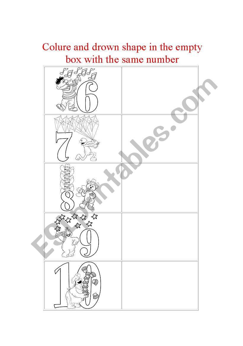 number part2 worksheet