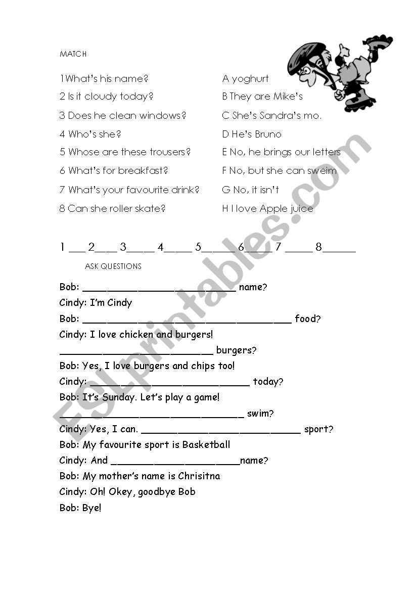 Practice dor elementary level:KIDS