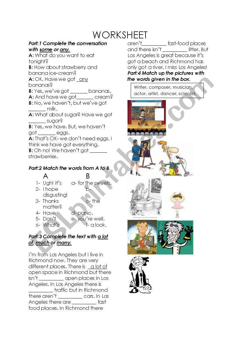 worksheet 2 worksheet