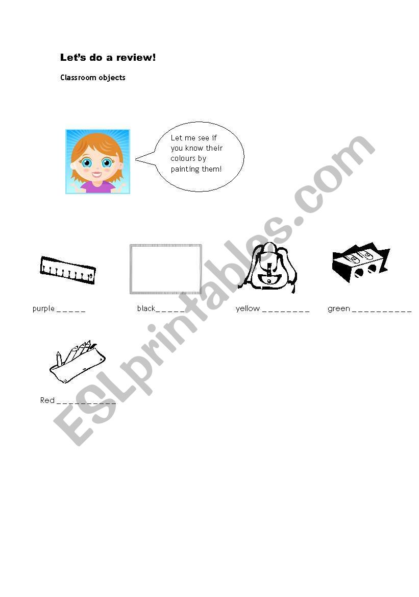 let´s do a review (3) worksheet