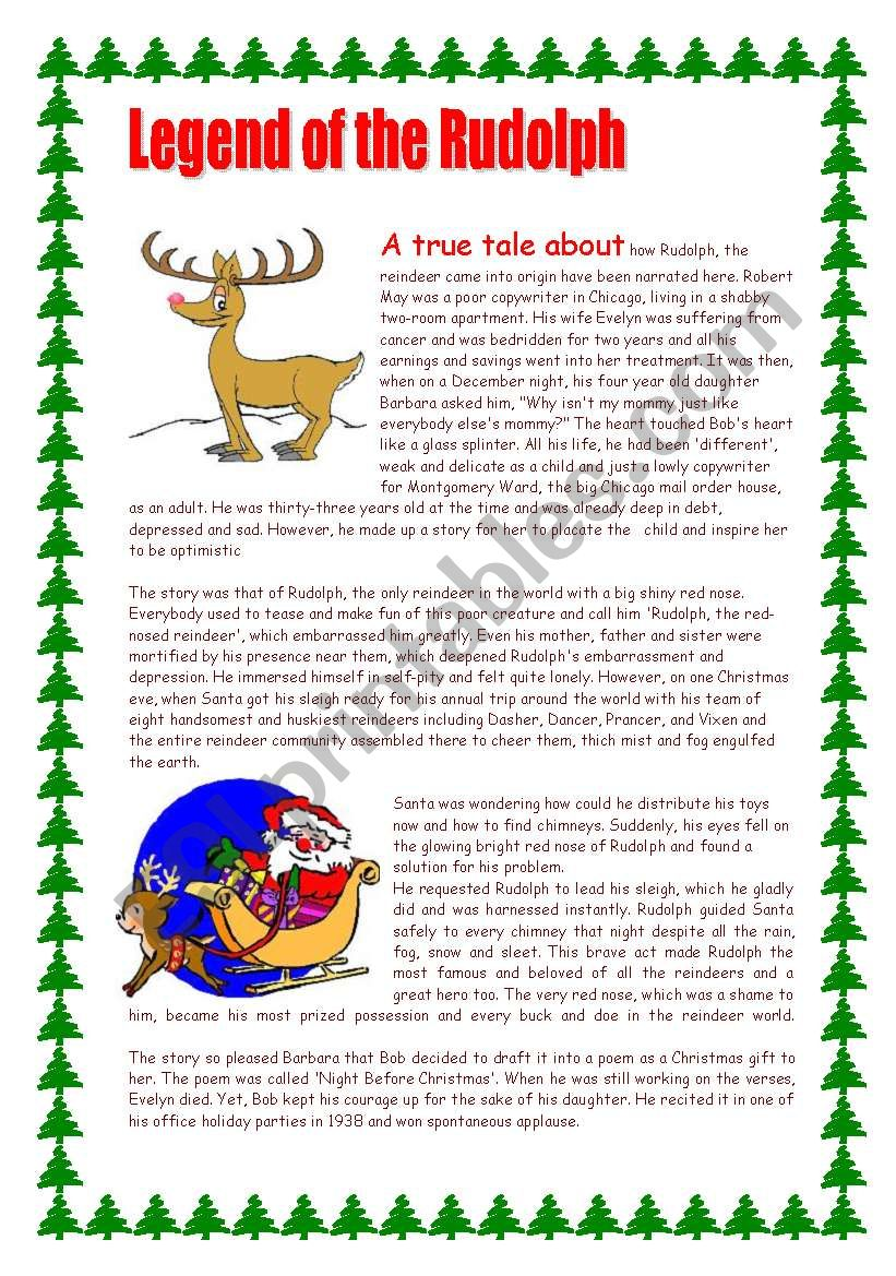 Legend of the Rudolph / a true tale