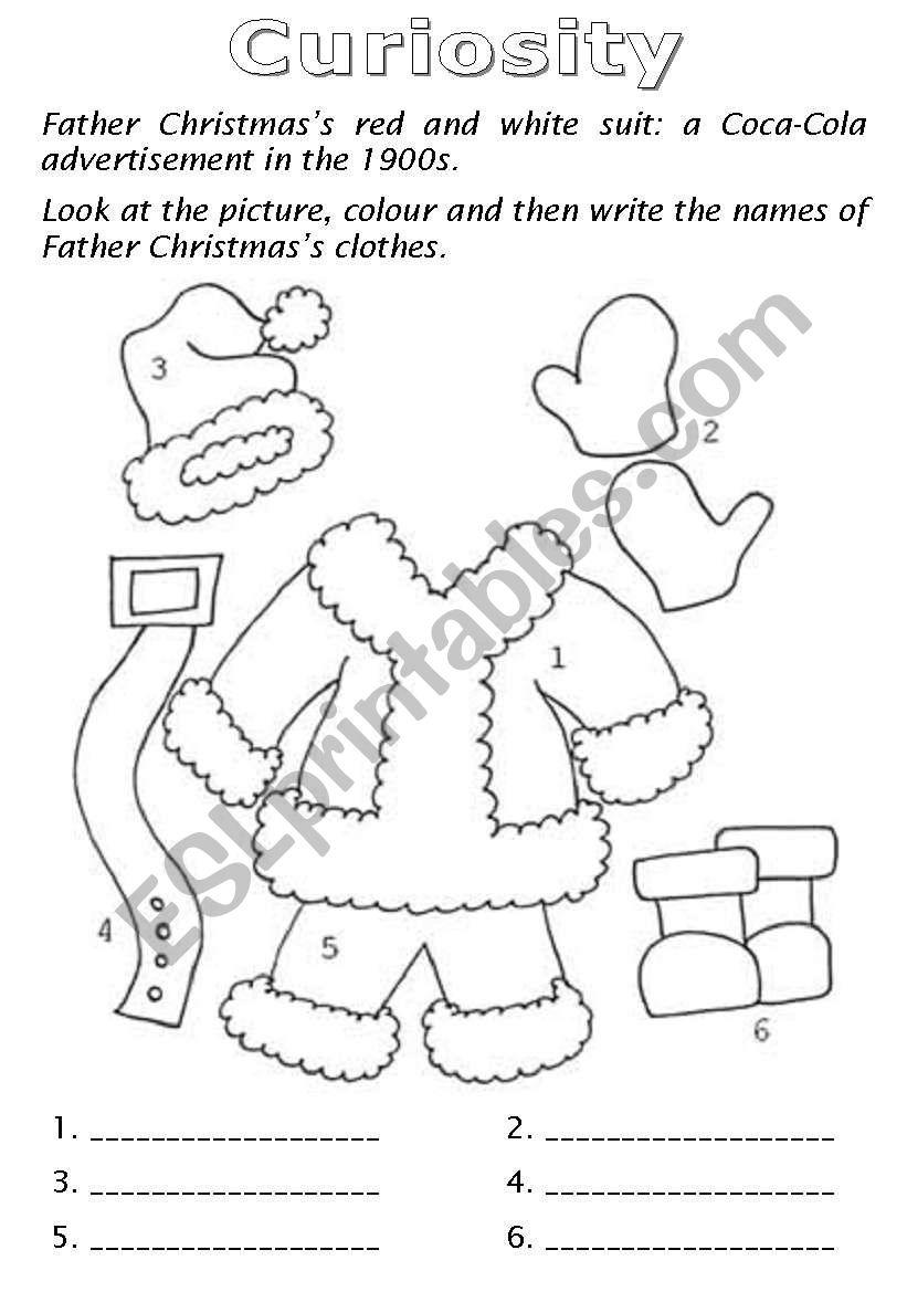 Christmas Booklet part 4 worksheet