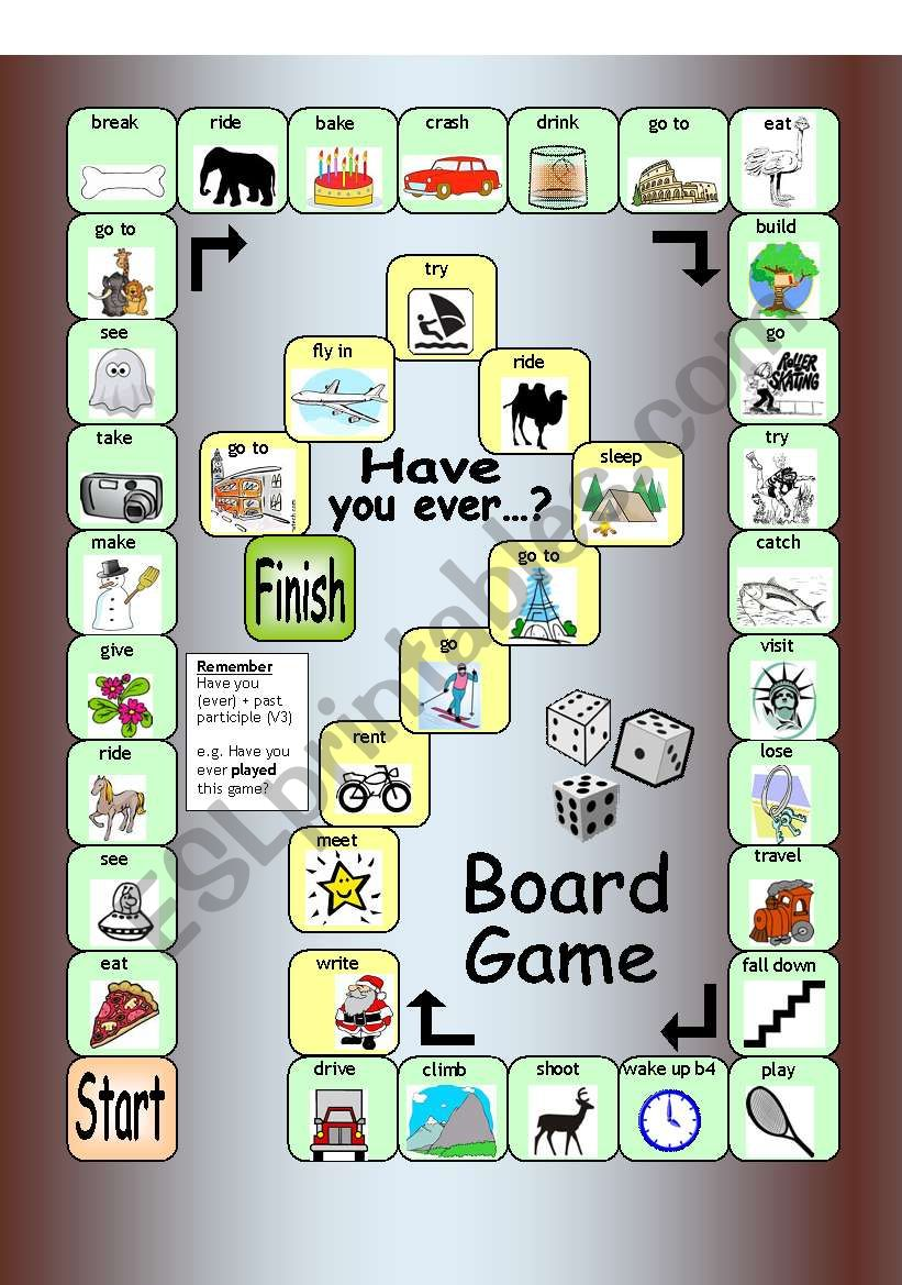 Board Game - Have you ever...?