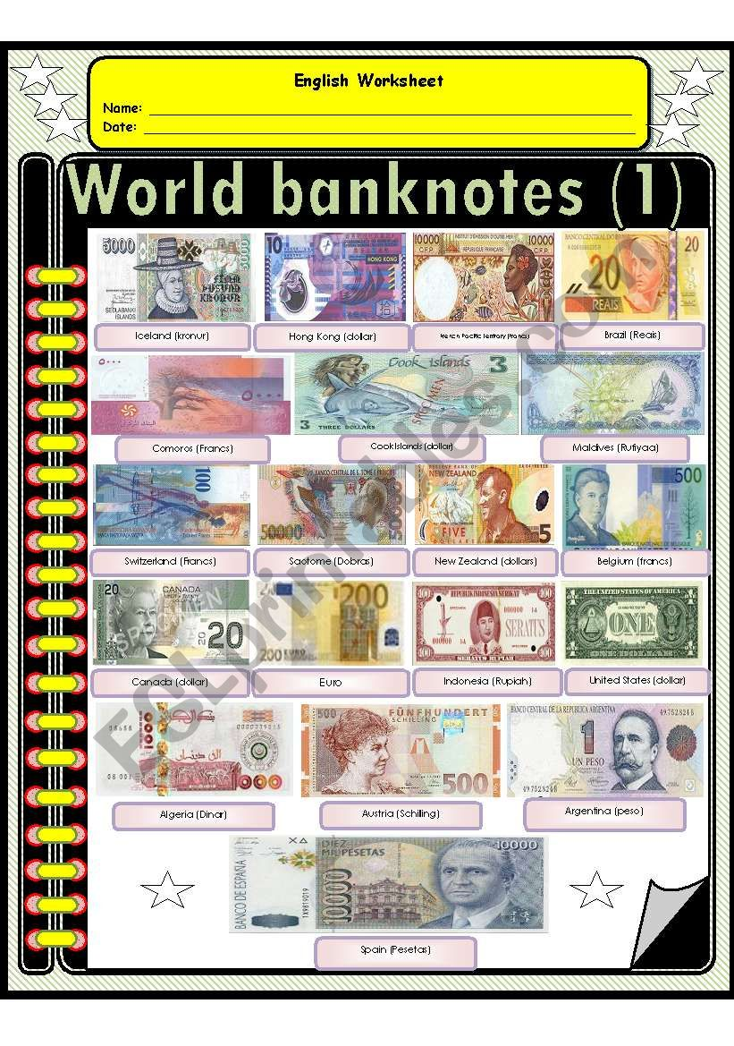 The most beautiful world Banknotes (1)