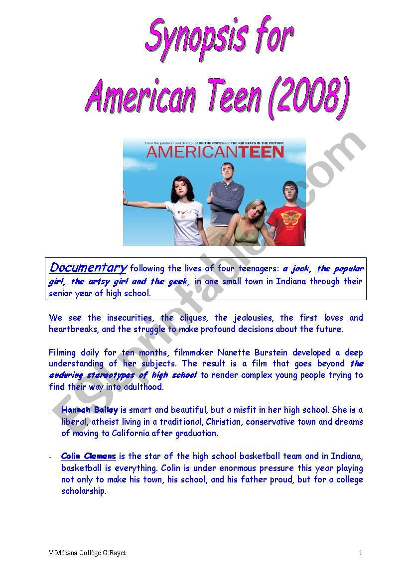 in time american teen documentary