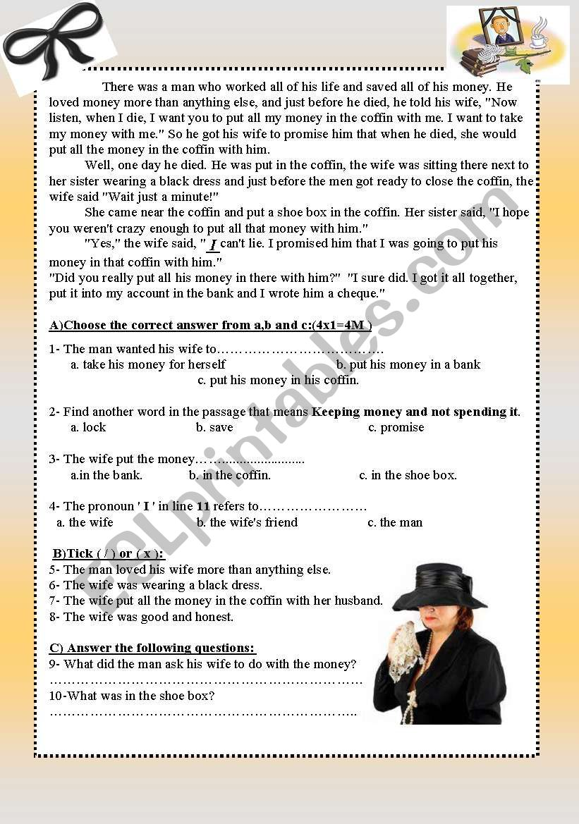 Women!!!!! worksheet