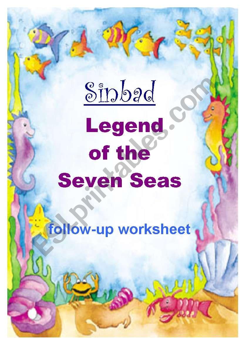 SINBAD - Legend of the 7 Seas worksheet