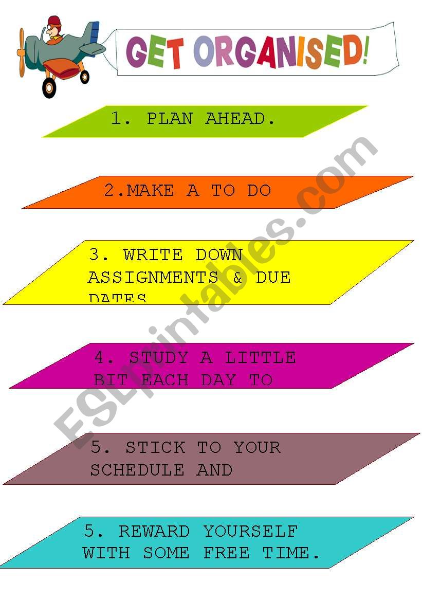 poster worksheet