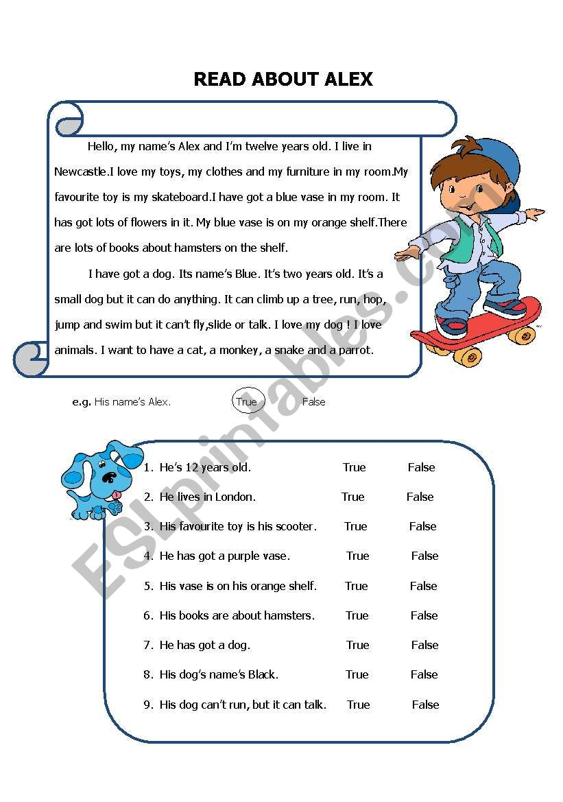 Reading For Specific Information ESL Worksheet By Mitokondri