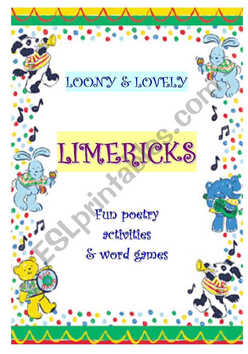LIMERICKS - A WS COLLECTION worksheet