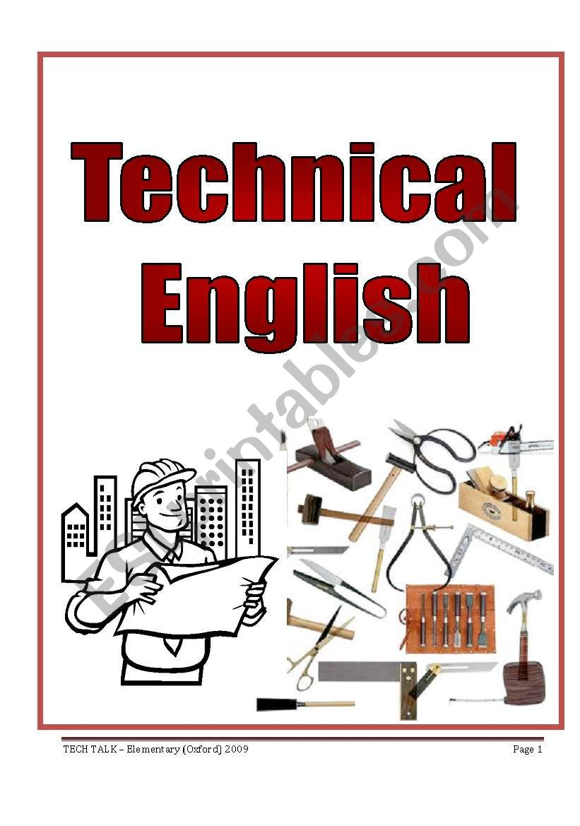 TECHNICAL ENGLISH  - (4 pages)
